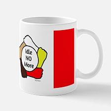 Idle No More - Five Hands - Canadian Flag Mug