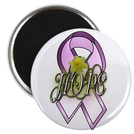 """HOPE: Breast Cancer Awareness 2.25"""" Magnet (10 pac"""