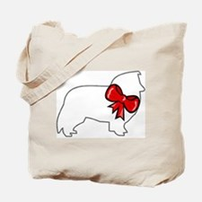 Holiday Sheltie Tote Bag