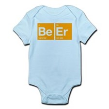 The periodic table of Beer Infant Bodysuit