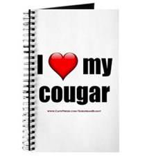 """""""I Love My Cougar"""" Journal"""