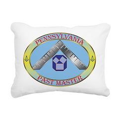 Pennsylvania Past Master Rectangular Canvas Pillow
