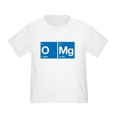 Oxygen Magnesium Periodic Table OMG Toddler T-Shir