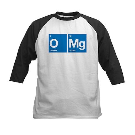 Oxygen Magnesium Periodic Table OMG Kids Baseball