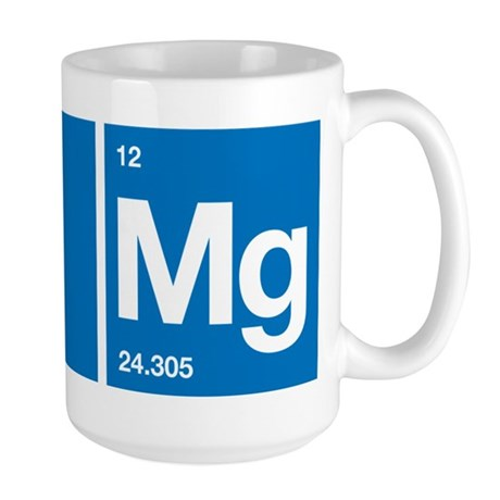 Oxygen Magnesium Periodic Table OMG Large Mug