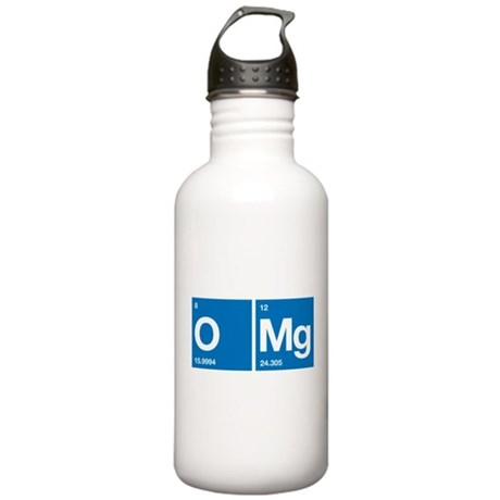 Oxygen Magnesium Periodic Table OMG Stainless Wate