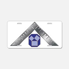 PA Past Masters Aluminum License Plate