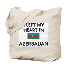 I Left My Heart In Azerbaijan Tote Bag