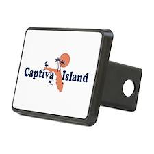 Captiva Island - Map Design. Hitch Cover