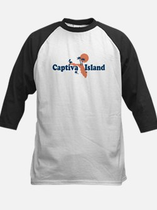 Captiva Island - Map Design. Tee