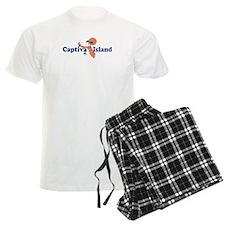 Captiva Island - Map Design. Pajamas