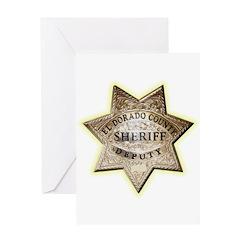 El Dorado County Sheriff Greeting Card