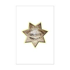 El Dorado County Sheriff Posters