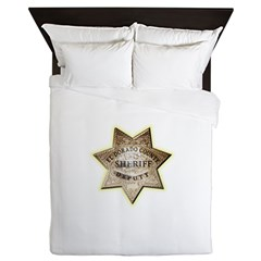 El Dorado County Sheriff Queen Duvet