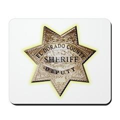 El Dorado County Sheriff Mousepad