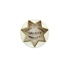 El Dorado County Sheriff Mini Button