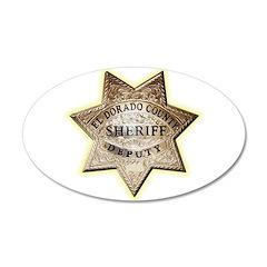 El Dorado County Sheriff Wall Decal