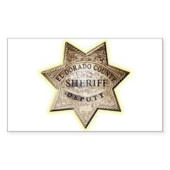 El Dorado County Sheriff Decal