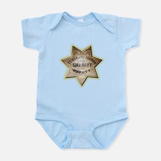 El Dorado County Sheriff Infant Bodysuit