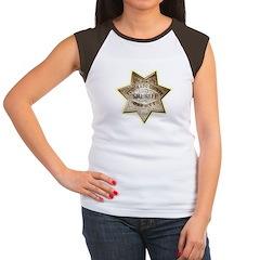 El Dorado County Sheriff Women's Cap Sleeve T-Shir