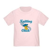 Knitting Chick #3 T