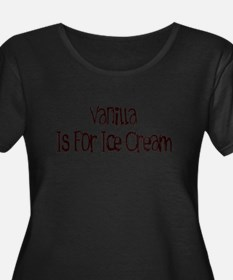 Vanilla Plus Size T-Shirt