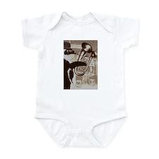 Double-belled euphonium Infant Bodysuit