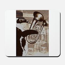 Double-belled euphonium Mousepad