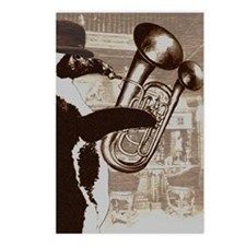 Double-belled euphonium Postcards (Package of 8)