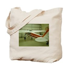 Super Cub Piper Plane Tote Bag