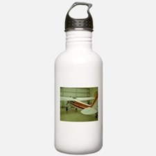 Super Cub Piper Plane Water Bottle