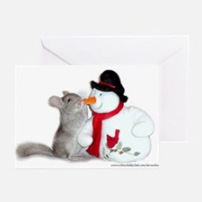 Chinchilla Christmas Cards (Pack of 6)
