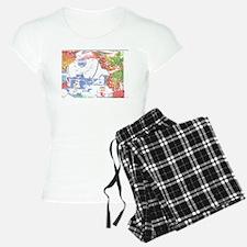 Leaf Snowman Bear. Pajamas