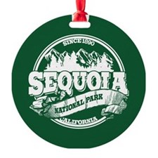 Sequoia Old Circle Ornament