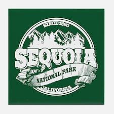 Sequoia Old Circle Tile Coaster