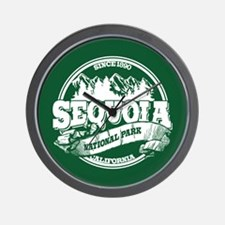Sequoia Old Circle Wall Clock