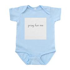 Pray for me Infant Bodysuit