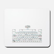 APL keyboard cheat sheet Mousepad
