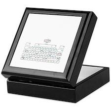 APL keyboard cheat sheet Keepsake Box