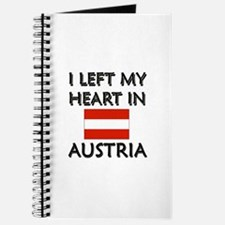 I Left My Heart In Austria Journal