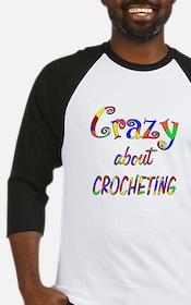 Crazy About Crocheting Baseball Jersey
