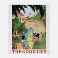The Good Life Throw Blanket
