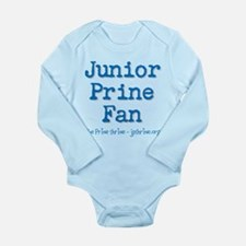Junior Prine Fan Long Sleeve Infant Bodysuit