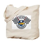 Checker Club Tote Bag