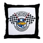 Checker Club Throw Pillow