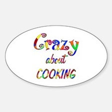 Crazy About Cooking Decal