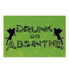 Drunk On Absinthe Postcards (Package of 8)