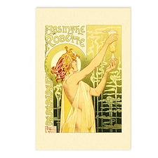 Vintage Absinthe Robette Postcards (Package of 8)
