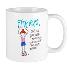 Motivation to Exercise Small Mugs