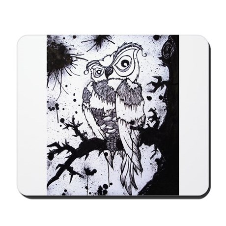 Archimedes-Wise Old Owl Mousepad